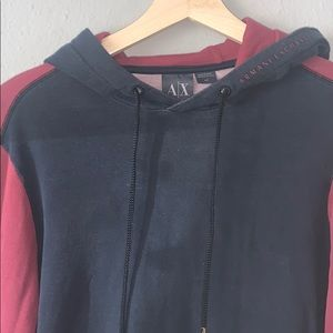 Armani exchange pull over sweater